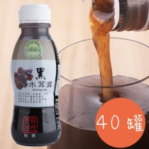 自然樂活 養生 黑木耳露(350ml*20罐*2箱)