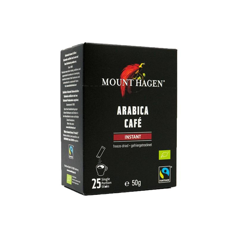 【Mount Hagen】有機即溶咖啡隨身包(2公克*25入/盒)