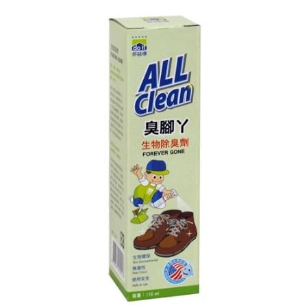 (買一送一) ALL Clean多益得 臭腳丫除臭劑 (110ml)