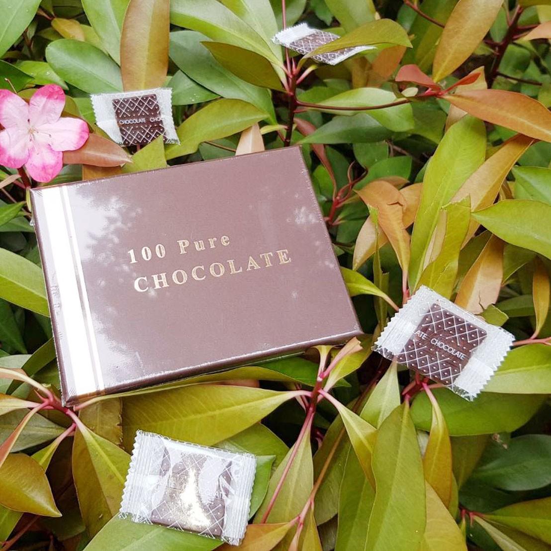 MCT黑巧克力薄片(16片/盒)