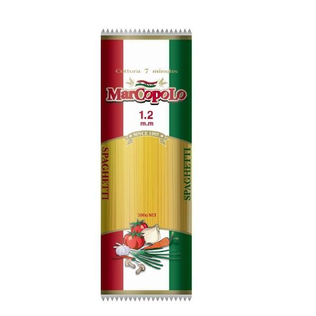 【馬可波羅】細扁麵(500g)
