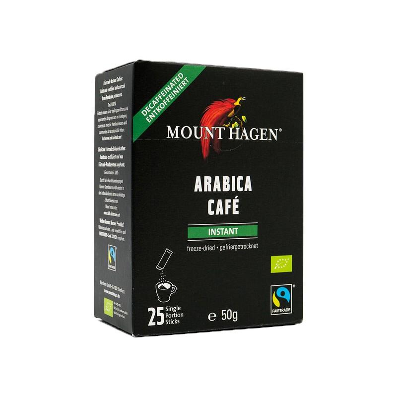 【Mount Hagen】有機即溶低咖啡因咖啡隨身包(2公克*25入/盒)