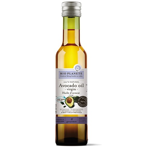 [法國有機行星食用油坊] 天然冷壓初榨酪梨油(250ml/瓶)