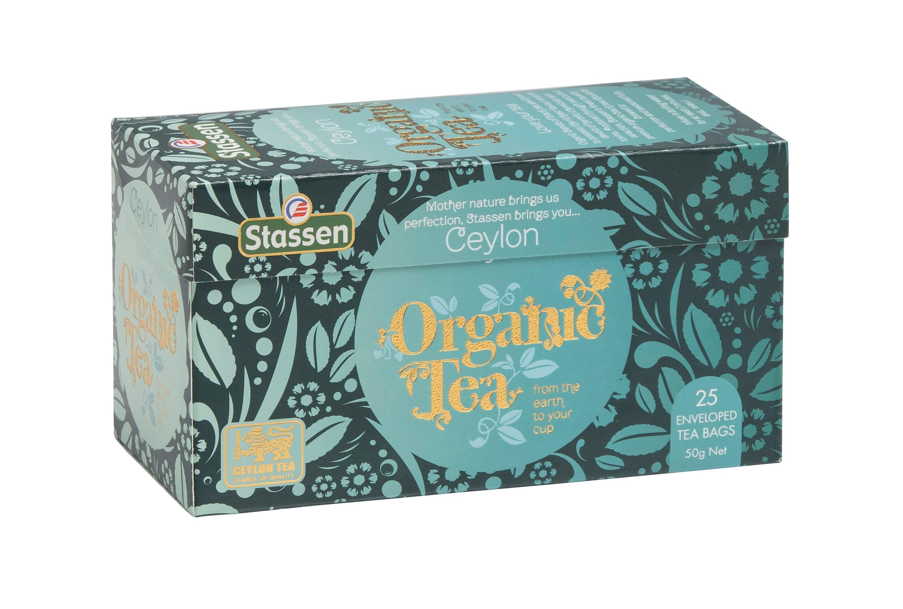[stassen司迪生]有機紅茶 (2g*25包/盒)