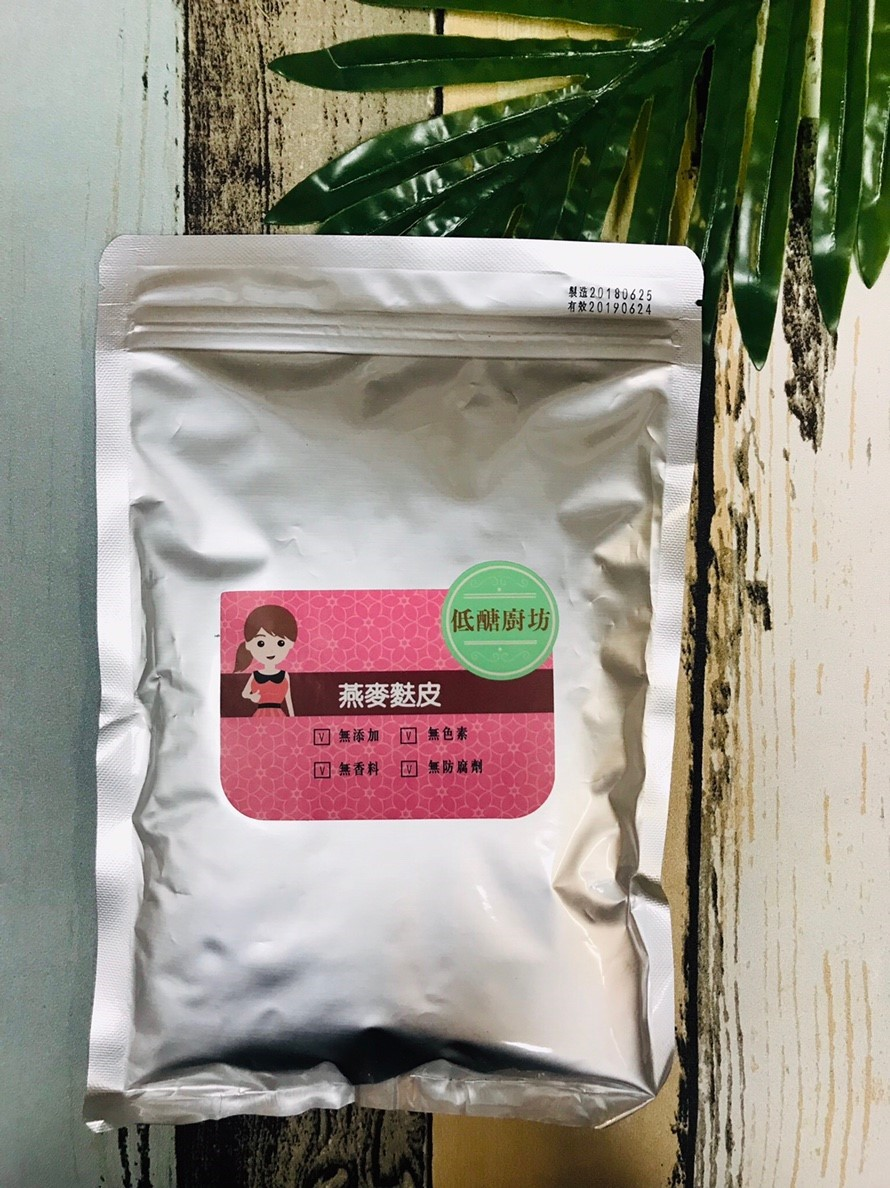 (買五送一)低醣廚坊 燕麥麩皮 (350g/包)