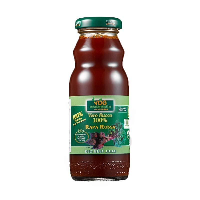 義大利 VOG農家瑞100%有機天然甜菜根檸檬汁(200ml/瓶)
