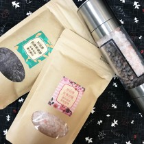 加油讚雙岩鹽+不鏽鋼雙頭研磨罐組