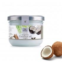法國有機行星食用油坊天然冷壓初榨有機椰子油(400ml*6罐)