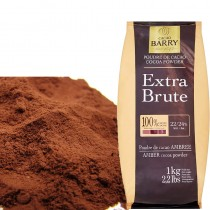 CACAO BARRY防潮100%可可粉(1kg/包)
