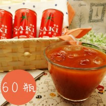 韓國 SAKI 蕃茄汁 (180ml*30罐*2箱)
